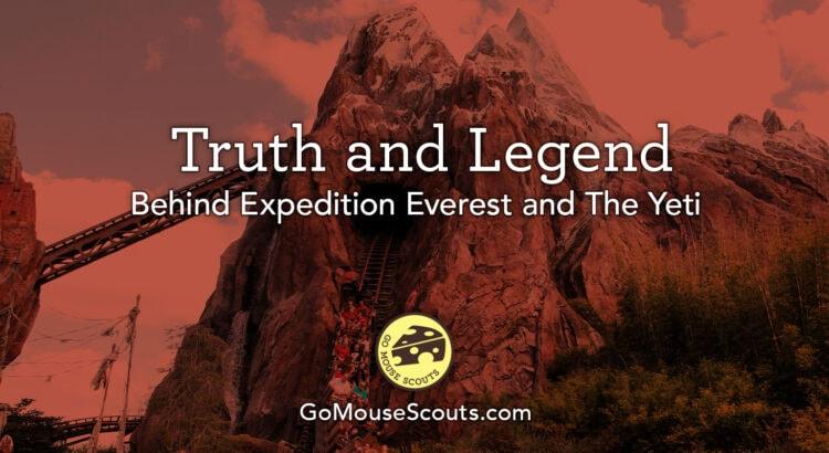 Legend Behind Expedition Everest